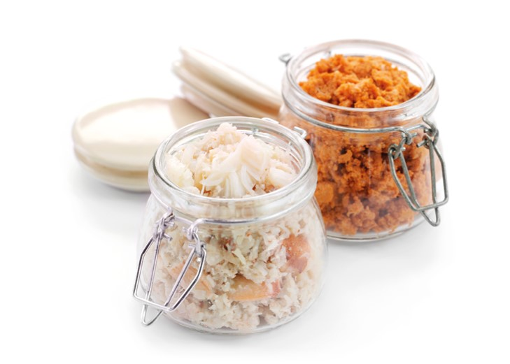 Crab Meat (50% white/50% brown, pasteurised)
