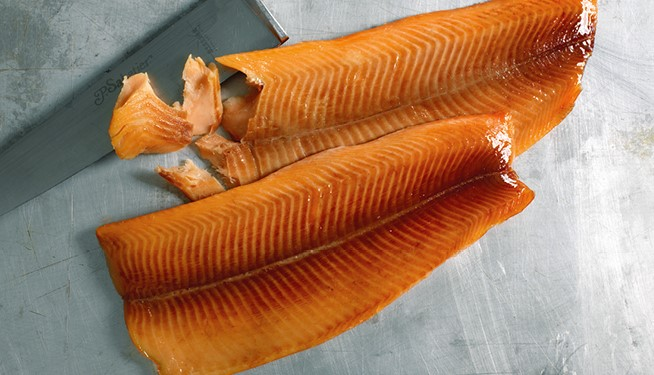Smoked Trout Fillets (skinless, boneless, paired)