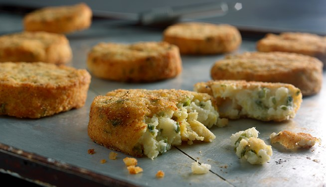 Smoked MSC Haddock & Spring Onion Fishcakes